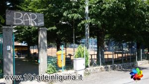 Parco Braia a Crocefieschi: ingresso dell'area