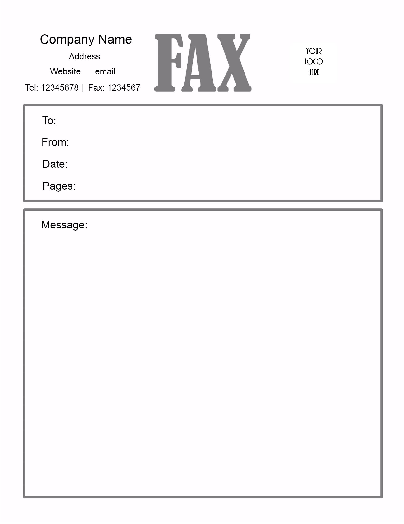 fax cover letter doc   Torku