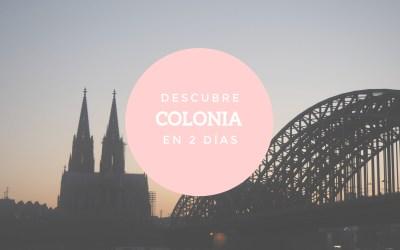 Colonia: una de las ciudades con más color de Europa