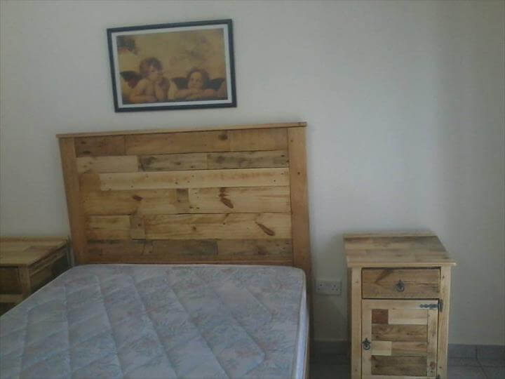 Bedroom Furniture Refurbish with Pallets on Pallet Ideas For Bedroom  id=71351