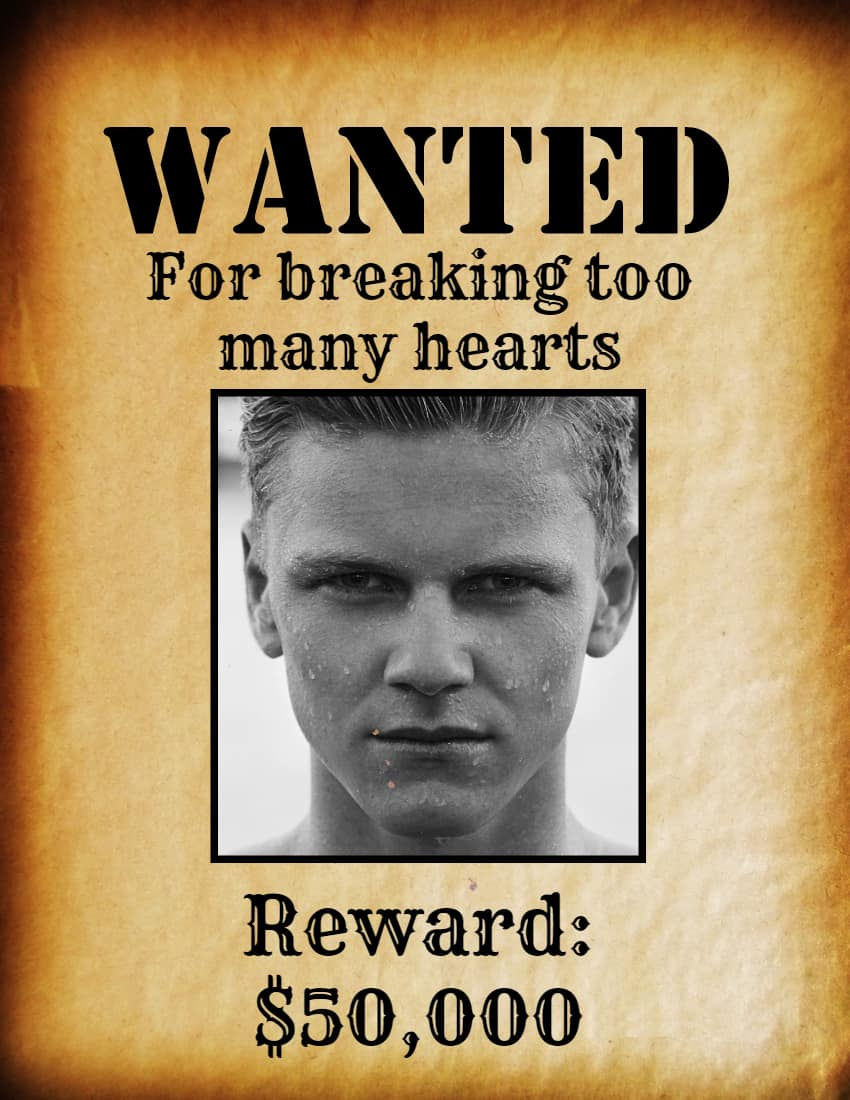 free wanted poster maker make a free
