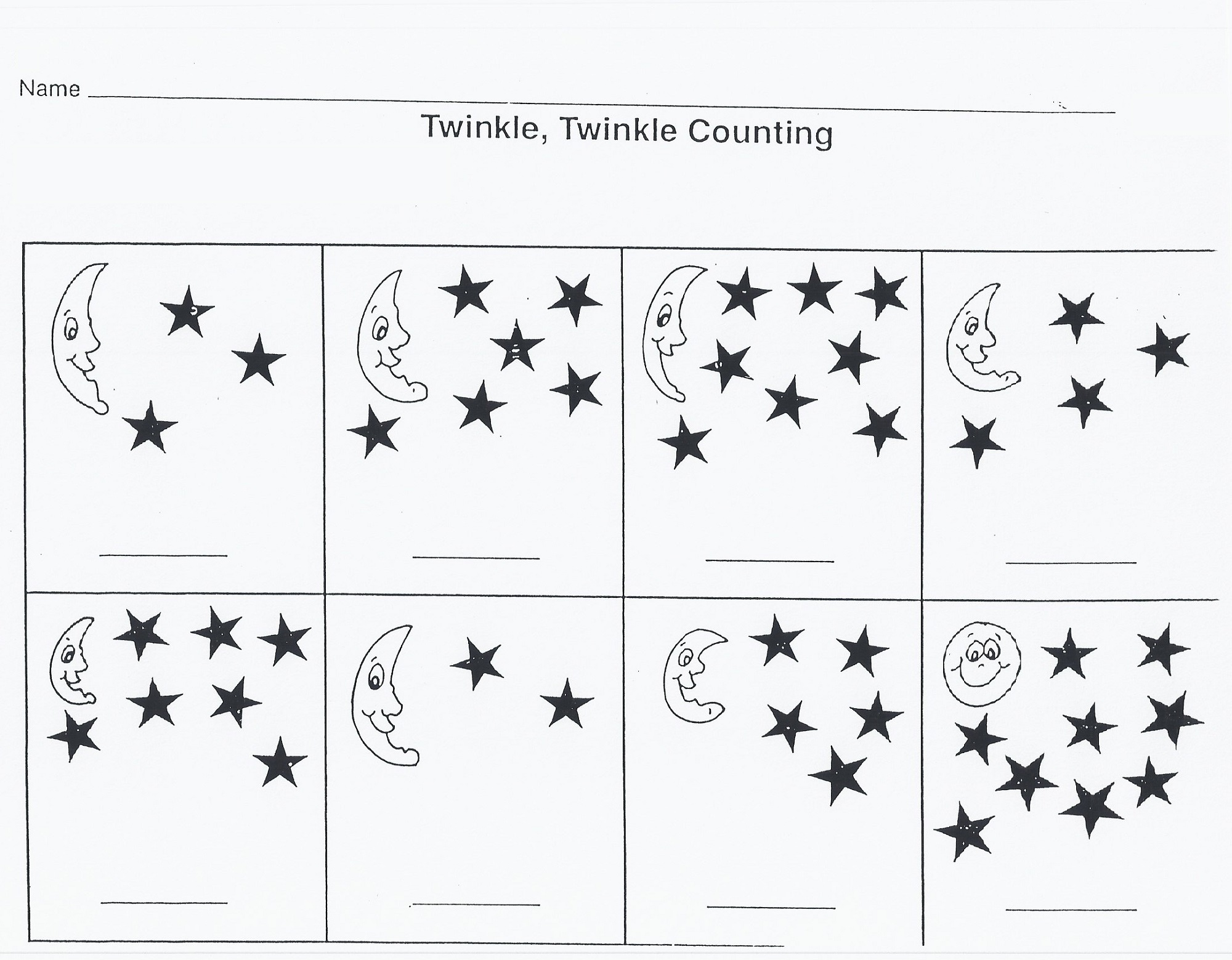 Outer Space Worksheets Easy