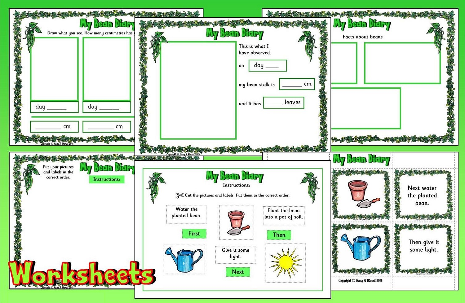 Jack And The Beanstalk Worksheets Free
