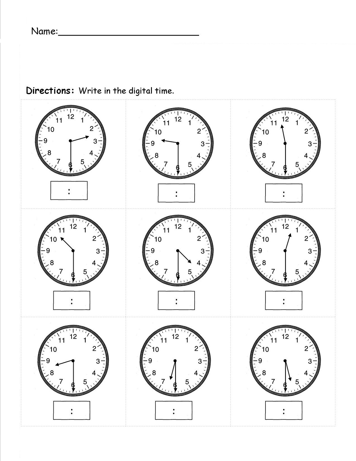 Easy Elapsed Time Worksheets Simple