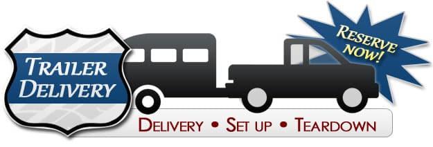 One way trailer rental