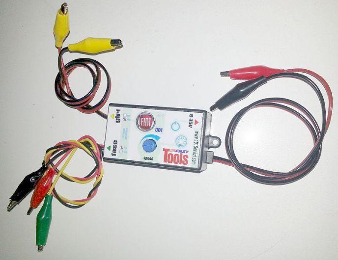 Fast Tools è un emulatore di segnali di ruota fonica giri e fase per testare le centraline motore (ECU)