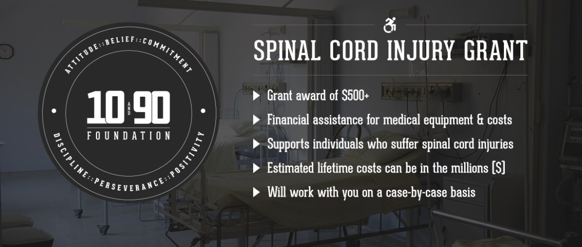 The 10 and 90 Foundation Spinal Cord Injury Grant