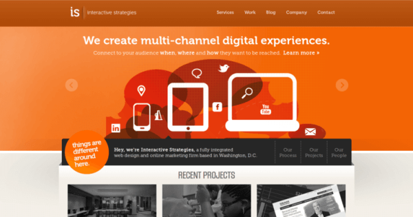 Interactive Strategies | Best Web Design Firms DC