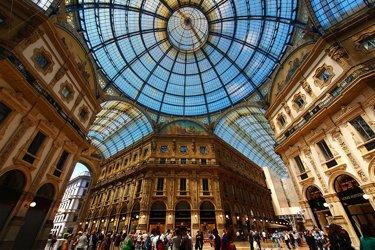 La Galleria Vittorio Emanuele di Milano