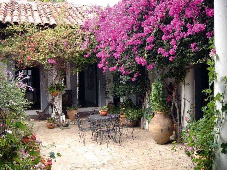 Resultado de imagen para patios con jardin interior