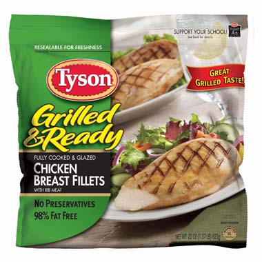 Tyson Chicken Breastesses.