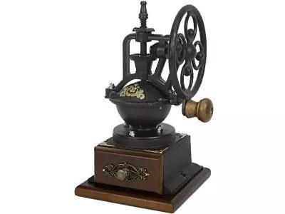 Evelyne manual coffee grinder in vintage style