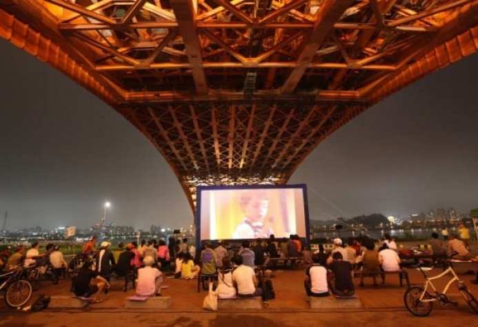 Han River Bridge Movie Festival What's On July Seoul 2018