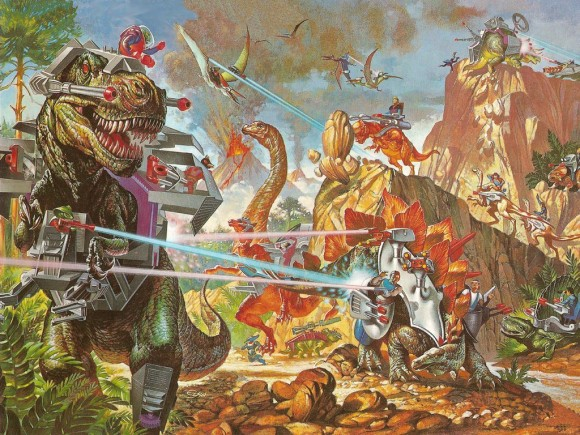 Dino-Riders Promo Image 1988