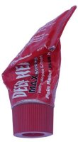 Used red tube of Deep Heat