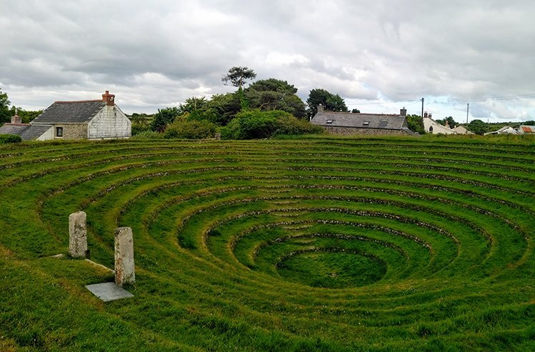 Gwennap Pit, Cornwall UK. Copyright Stephanie Boon, 2018. All Rights Reserved