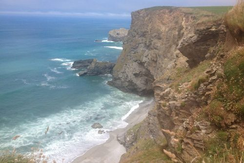 North Cliffs, South West Coast Path, north Cornwall. Copyright Stephanie Boon, 2016. All Rights Reserved.
