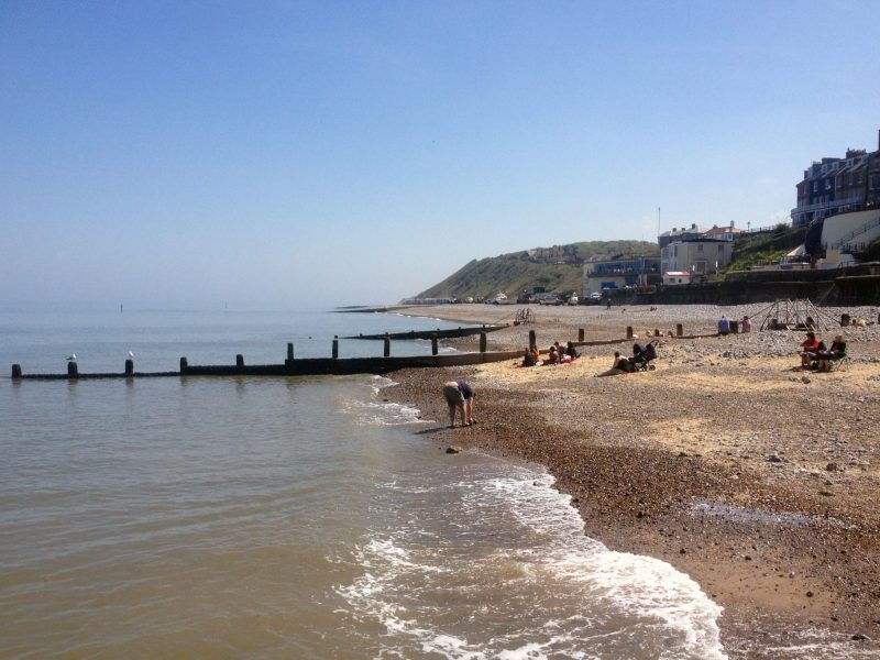 Cromer Beach, UK. Norfolk Coast Path National Trail. Copyright Stephanie Boon, 2018. All Rights Reserved.