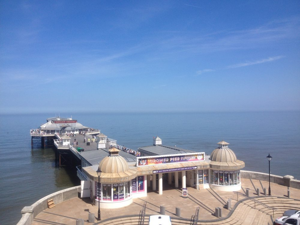 Cromer Pier, UK. Norfolk Coast Path National Trail. Copyright Stephanie Boon, 2018. All Rights Reserved.