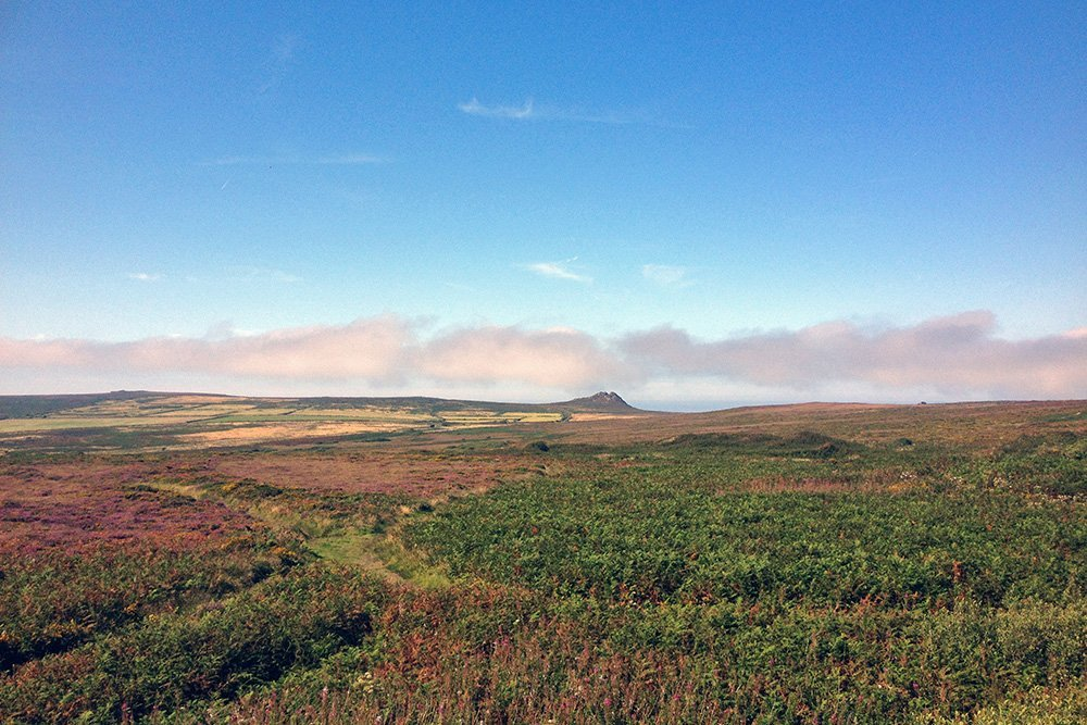 West Penwith Moor, Cornwall, UK. Copyright Stephanie Boon, 2018. All Rights Reserved.
