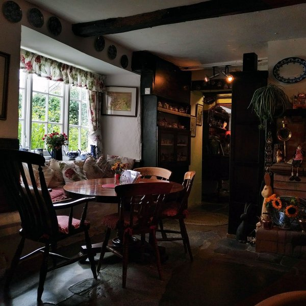 Rectory Farm Tea Rooms, Morwenstowe, North Cornwall, UK