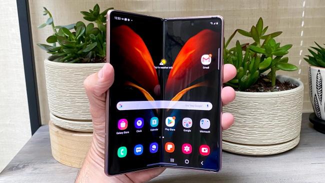 Best foldable 5G phone Samsung Galaxy Z Fold 2 5G