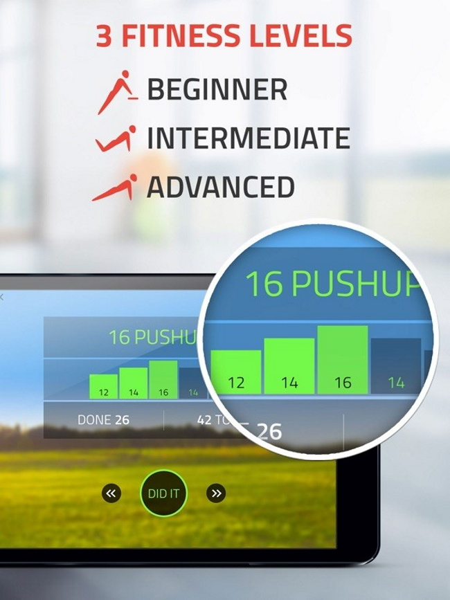 Fitness22 is one of the 9 personal trainer app
