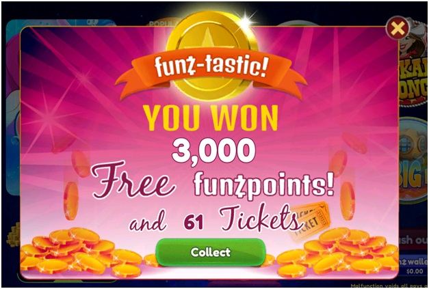 Funzpoints Daily Jackpot Draws