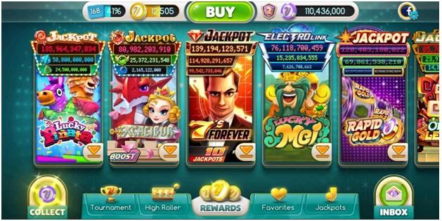 my Vegas slots app features