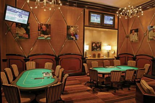 Private poker rooms are not under surveillance