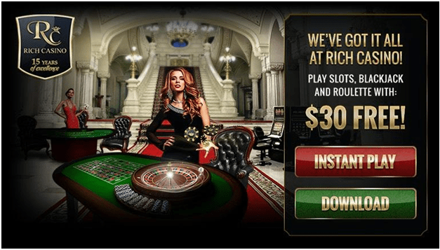Rich Casino Download option