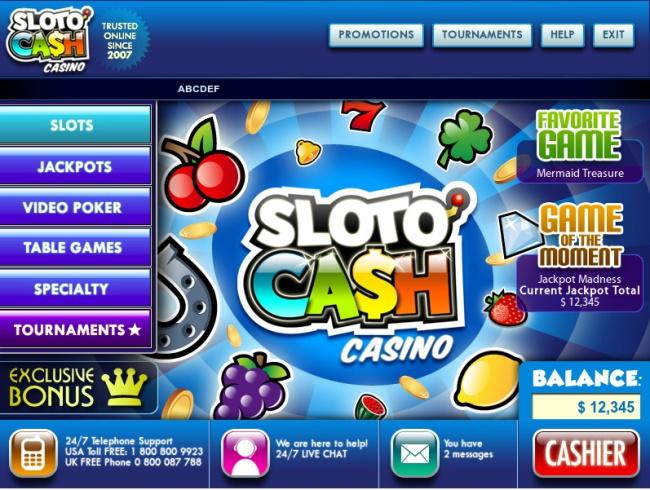 SlotoCash.com Casino