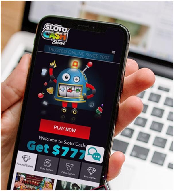 Slotocash casino mobile slots