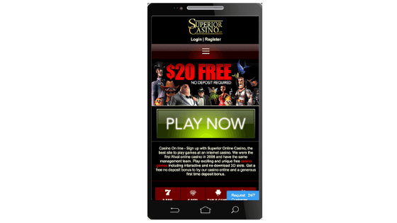 Superior Casino Mobile