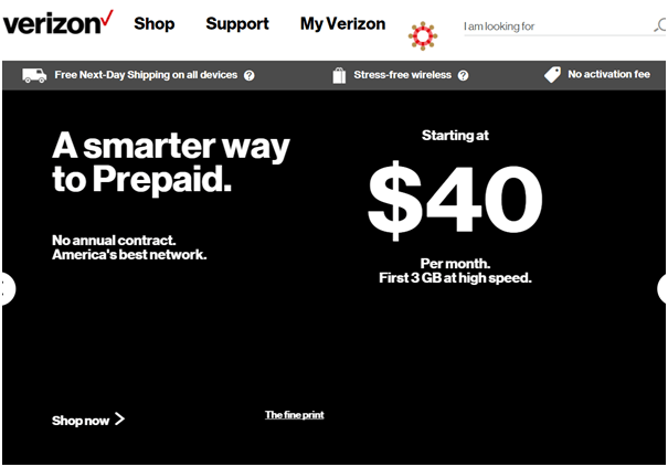 Verizon- prepaid plans 2018