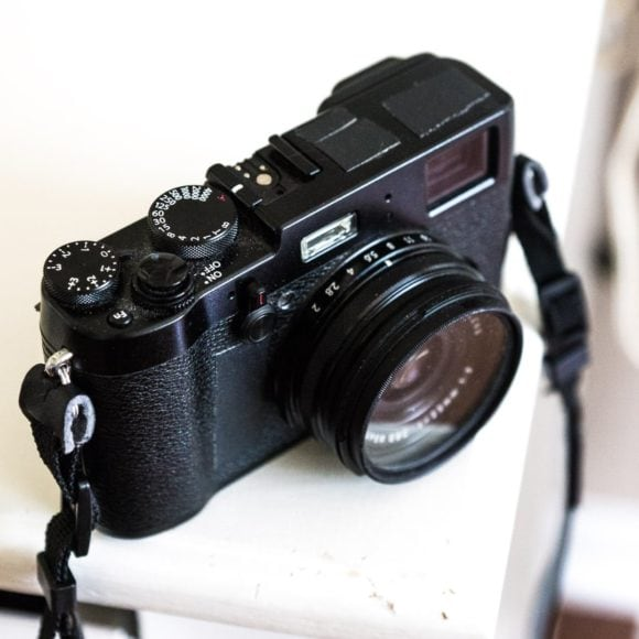 Front of the X100T