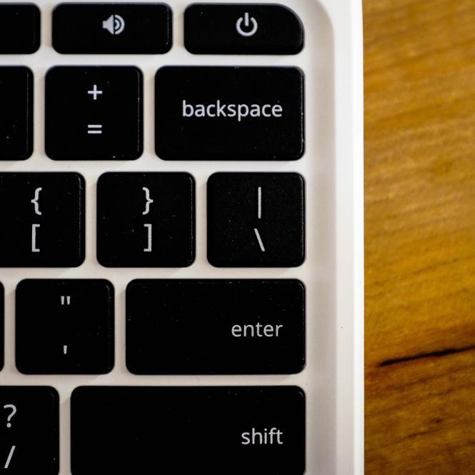 """Chromebook Keyboard Detail"" Cedar Park, 2016"