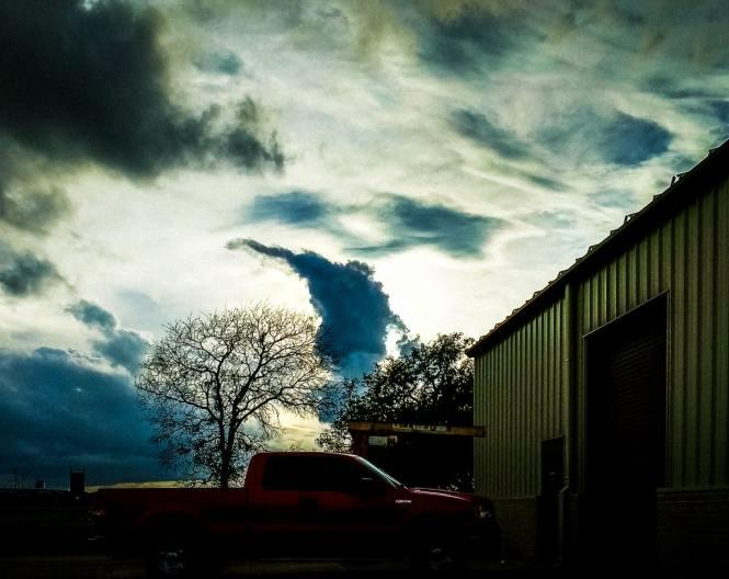 """""""Cloud Monster"""" Leander, 2017"""
