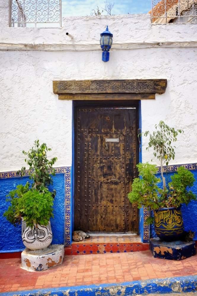 """""""Kasbah Door"""" Rabat, 2017"""