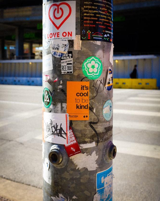 """Stickers"" Austin, 2017"