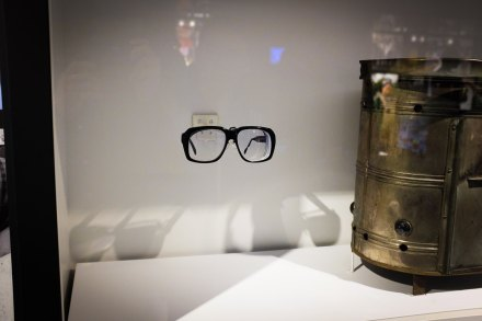 """""""Harry Caray's Glasses"""" Round Rock, 2017"""