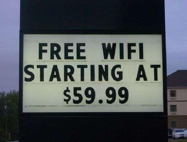 Dit is wel heel dure WiFi