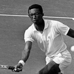 Celebrating Black History Month • Arthur Ashe Tennis Star, Great Humanitarian And My Friend By Sigrid Draper (From The 10sBall Vault).