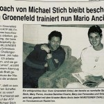 Sven Groeneveld Coaching Mario Ancic  –THE TENNIS BADGE CHRONICLES #4 of the Series