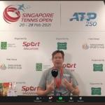 Doubles, Interview and Center Court – Coach Sven's Day 7 at the Singapore ATP 250