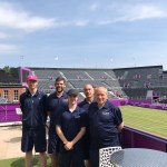 Queens Tennis 2021 • A  Postcard  From The Racket Stringers