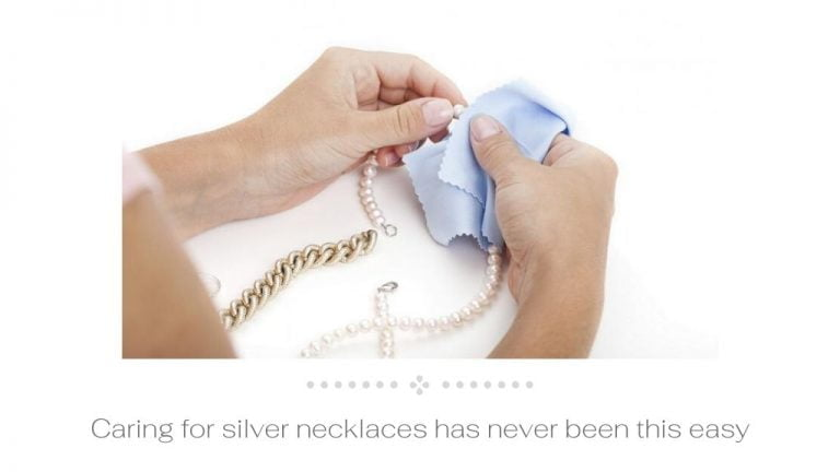 Caring for silver necklaces has never been this easy