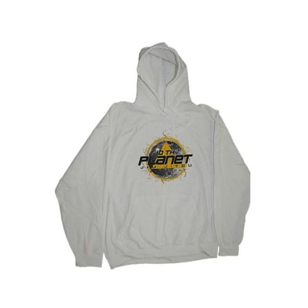 White Hoodie Street Wear 100% Cotton