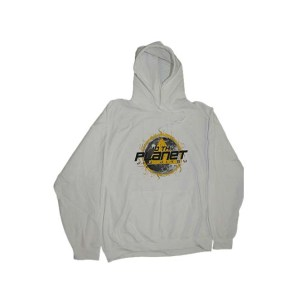 White Hoodie Street Wear 100% Cotton