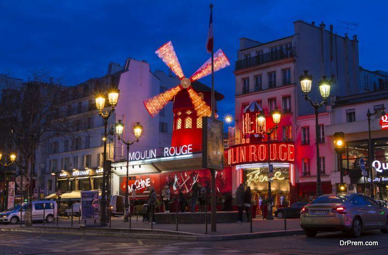 enjoyable night in Paris